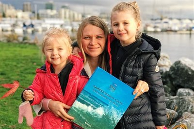 Книга «Байкал вокруг света» в Ванкувере