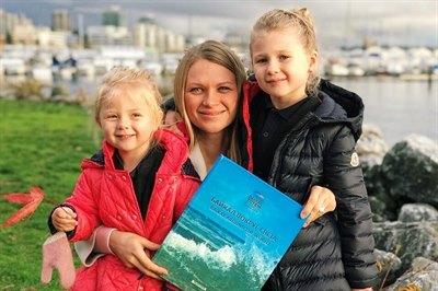 За пять месяцев путешествия книга «Байкал вокруг света» посетила одиннадцать стран