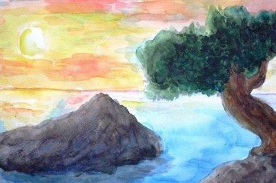 Юных жителей России приглашают участвовать в конкурсе рисунков Байкала