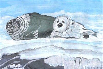 Победители конкурса детских рисунков Байкала вфеврале