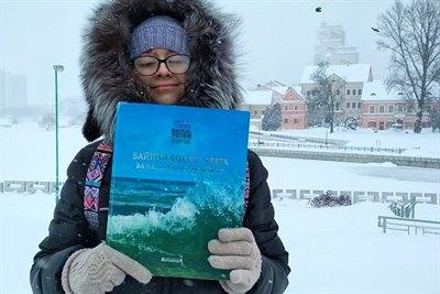 Книга «Байкал вокруг света» в Беларуси
