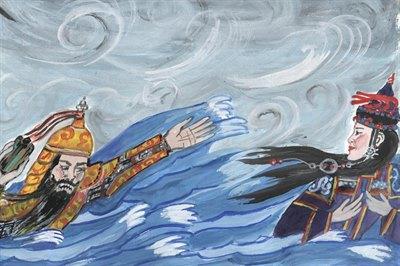 Стартовал мартовский этап всероссийского конкурса детских рисунков Байкала