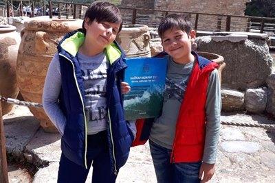 Книга «Байкал вокруг света» в Греции