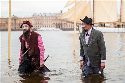 Инженерный театр «АХЕ» из Санкт-Петербурга представит спектакль «Мокрая свадьба» 23 июня в Иркутске