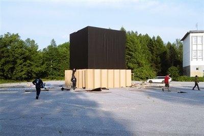 Натерритории БЦБК художники создадут «Бумажный дом»